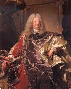 Hyacinthe Rigaud Count Philipp Ludwing Wenzel of Sinzendorf