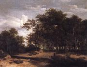 Jacob van Ruisdael The Great forest