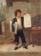 Newsboy Selling New-York