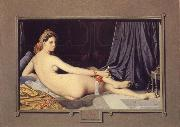 Jean Auguste Dominique Ingres Odalisque oil painting reproduction