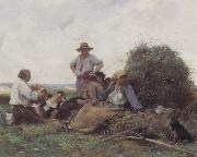 Harvesters At Rest