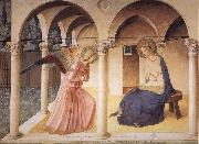 Fra Angelico The Verkundigung oil painting reproduction