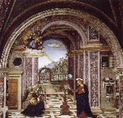 Bernardino Pinturicchio Bernardino Pinturicchio the Verkundigung oil painting reproduction