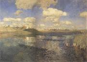 Levitan, Isaak The lakes. Rubland