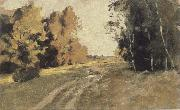 Levitan, Isaak Evening forest ways