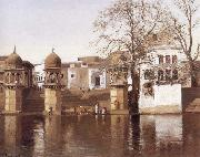 One of the Twenty-four Ghats at Mathura