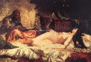 Mariano Fortuny y Marsal Odalisque oil painting reproduction