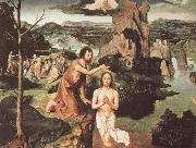 PATENIER, Joachim The Baptism of Christ oil painting reproduction