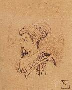 A Medallion Portrait of Muhammad-Adil Shah of Bijapur