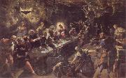 Tintoretto The communion oil painting reproduction