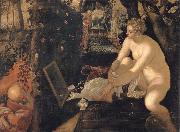 Tintoretto Susanna and the elders oil painting reproduction
