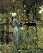 A Girl in a  Meadow