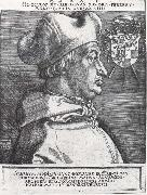 Cardinal Albrecht of Bran-Denburg in portrait