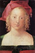 Young Woman with a Red Beret