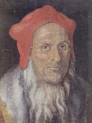 Bearded Man in a Red cap