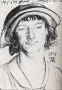 Young man with a cap