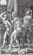 Albrecht Durer The Flagellation of Christ oil painting reproduction