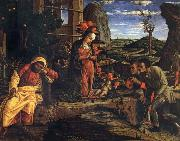 Andrea Mantegna Adoration of the Shepherds oil painting reproduction
