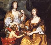 Anthony Van Dyck Lady Elizabeth Thimbelby and Dorothy,Viscountess Andover