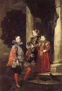 Anthony Van Dyck The Balbi Children