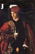 BARTOLOMEO VENETO Portrait of Ludovico Martinengo oil painting