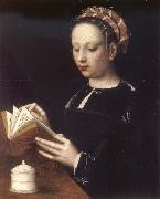 BENSON, Ambrosius Mary Magdalene Reading oil painting