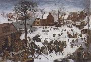 BRUEGHEL, Pieter the Younger The Numbering at Bethlehem