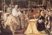 Charles II Adoring the St Sacrament