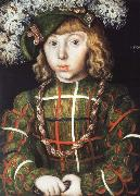 Portrait of Johann Friedrich the Magnanimous at the Age of Six