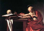 Caravaggio St Jerome oil painting reproduction