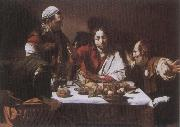 Caravaggio The Supper at Emmaus oil painting reproduction