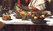 Detail of The Supper at Emmaus