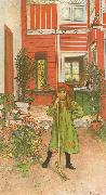 Carl Larsson Rading oil painting reproduction
