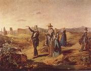 English Tourists in the Roman Campagna