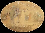Charles conder The Meeting oil painting reproduction