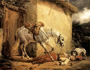 Claude-joseph Vernet The Wounded Trumpeter oil painting