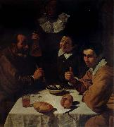 Diego Velazquez Luncheon oil painting reproduction