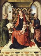 The Virgin and Child Enthroned with Saints Peter and Paul