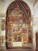 family chapel of the Sassetti