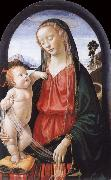 Domenico Ghirlandaio THe Virgin and Child