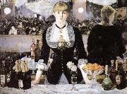 Edouard Manet An inclement in the Foils Bergere oil painting reproduction