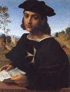 FRANCIABIGIO Portrait of a Kning of Rhodes oil painting