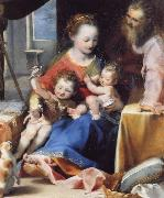 Federico Barocci The Madonna and Child with Saint Joseph and the Infant Baptist oil painting