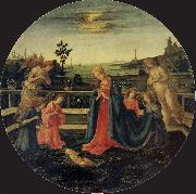 The Adoration of the Infant Christ
