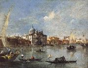 Francesco Guardi The Giudecca with the Zitelle
