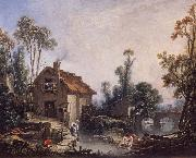 Landscape with a Watermill