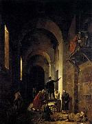 Francois-Marius Granet Stella in Prison oil painting