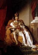 Friedrich von Amerling Emperor Franz I of Austria in his Coronation Robes