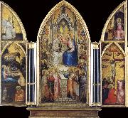 The Coronation of the Virgin among saints and Angels