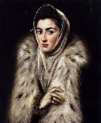 A Lady in a Fur Wrap